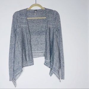 FREE PEOPLE Grey sweater with hook closure